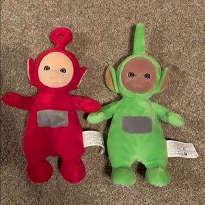 Other - Adorable stuffed Teletubbies stuffy dolls bundle